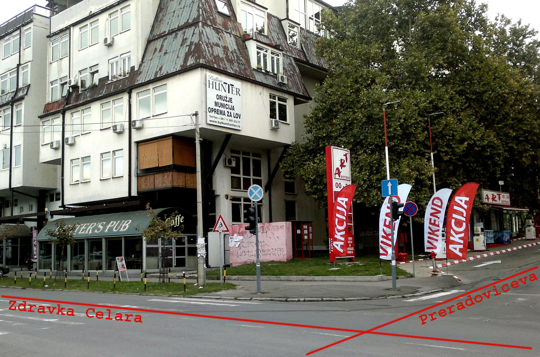 Zgrada u kojoj se nalazimo - Zdravka Čelara 12, prvi sprat, lokal 39, 11060 Palilula (Beograd)